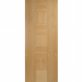 LPD Internal Oak CATALONIA Pre-Finished Flush Fire Door FD30