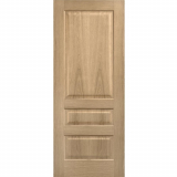 LPD Internal Oak CONTEMPORARY Pre-Finished 3 Panel Fire Door FD30