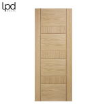 Internal Oak EDMONTON Pre-Finished Flush Door