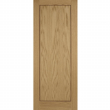 LPD Internal Oak INLAY Pre-Finished 1 Panel Flush Fire Door FD30
