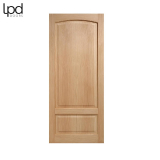 Internal Oak WORTHING Traditional Arched 2 Panel Door