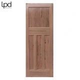 Internal Pitch Pine DX 1930s Edwardian Style 4 Panel Door