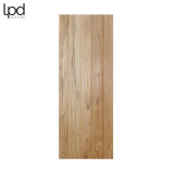 LPD Internal Solid Oak Button Bead Framed & Ledged Door