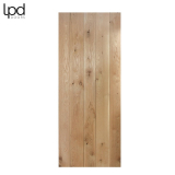 Internal Solid Oak RUSTIC Framed & Ledged Door