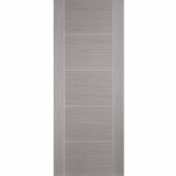 LPD Internal VANCOUVER Light Grey Pre-Finished 5 Panel Flush Fire Door FD30