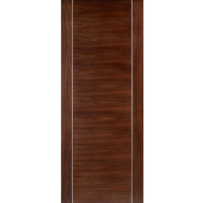 LPD Internal Walnut ALCARAZ Pre-Finished Flush Door