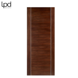 Internal Walnut ALCARAZ Pre-Finished Flush Door