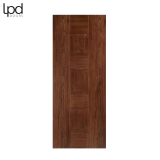 Internal Walnut CATALONIA Pre-Finished Flush Door