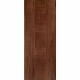 LPD Internal Walnut CATALONIA Pre-Finished Flush Fire Door FD30