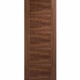 LPD Internal Walnut VANCOUVER Pre-Finished Flush Fire Door FD30