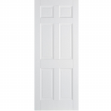 LPD Internal White Regency Primed 6 Panelled Door