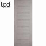 LPD Internal Light Grey Hampshire Pre-finished Flush Door