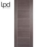 LPD Internal Medium Grey Laminate Vancouver 5 Panelled Door
