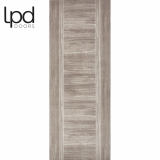 LPD Internal Light Grey Laminate Ottawa Flush Door