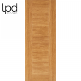 LPD Internal Oak Laminate Ottawa Flush Door