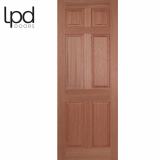 LPD Internal Hardwood Regency 6 Panelled Door