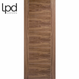 LPD Internal Walnut Vancouver Pre-finished Flush Door