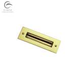 Sliding Door Pull Handle Flush Rectangle Inset Slide