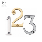 Heritage Brass External House Front Door Numbers 0-9 (51mm)