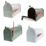 Sterling U.S Aluminium Post Box