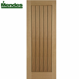 Mendes Mexicano Internal Un-Finished Oak Grooved Door