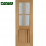 Mendes Mexicano Internal Un-Finished 4 Light Glazed Door