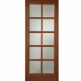 Mendes External Hardwood Pattern SC Unglazed Door