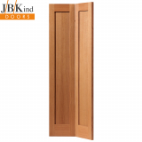 Internal Oak Etna Shaker Style Panelled Bi-Fold Door