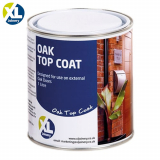 Pot of External Oak Door Finishing Top Coat (1 Litre)