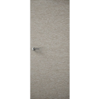 Premdor Internal LIGHT GREY Horizontal Grain Flush Door