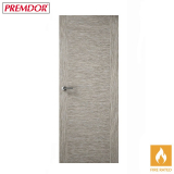 Internal LIGHT GREY Two Stile Flush Fire Door FD30