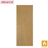 Internal Oak CLASSIC VERTICAL Flush Fire Door FD30