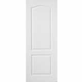 Premdor Internal White Primed 2 PANEL CLASSIQUE Moulded Textured Fire Door FD30
