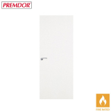 Internal White Primed PAINT GRADE PLUS Flush Fire Door FD30