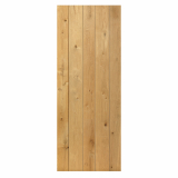 JB Kind Rustic Knotty Oak Solid Plank Ledged Door