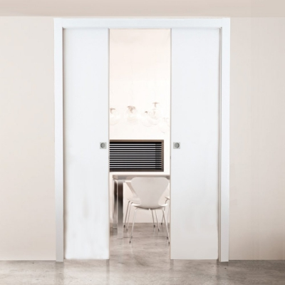 Double Pocket Door Cavity Sliding System (doors sold separately)