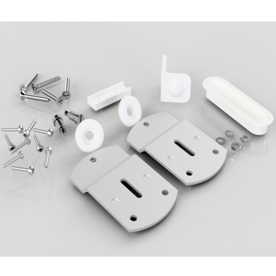 Sliding Wardrobe Door Gear No. 1 Extra Fittings Kit (SS1)