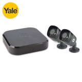 Yale Smart Home CCTV HD1080 4 Channel DVR (1TB) with 2 Cameras