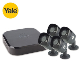 Yale Smart Home CCTV HD1080 8 Channel DVR (2TB) with 4 Cameras