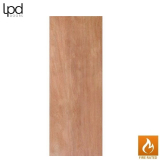 "Solid Core Door Blank with Hardwood Lippings Fire Rated FD30 36"" x 84"""