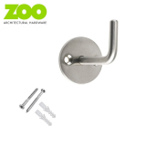 Stainless Steel Contemporary Circular Single Robe Hook
