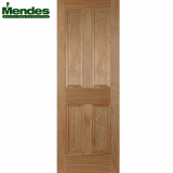 Mendes Pine Un-Finished Islington Flat 4 Panelled Door