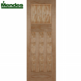 Mendes Pine Un-Finished 1930 Flat 4 Panelled Door
