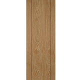 Mendes Vision Internal Oak Pre-Finished Grooved Flush Fire Door