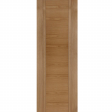 Mendes Capri Internal Oak Pre-Finished Grooved Flush Fire Door