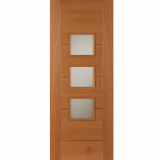 Mendes External Oak Monza Thermally Rated Glazed Door
