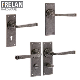 Frelan Hardware Valley Forge Internal Door Handle Pair Lever on Plate