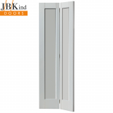 Internal White Primed Antigua Shaker Panel Bi-Fold Door