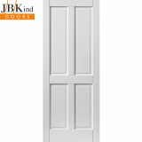 JB Kind External White Colonial 4 Panel Medite Tricoya Extreme Pre-finished Door
