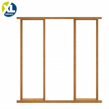 External Oak Effect Door Frame Kit with Sidelight